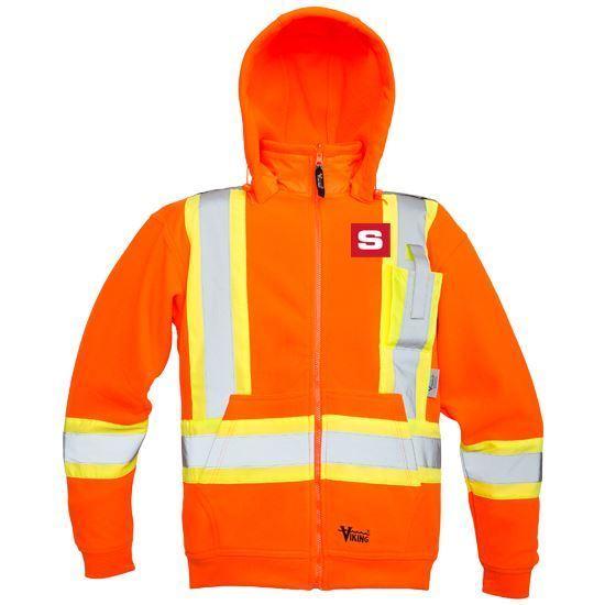 Picture of Veste de polar Homme Orange 6420JO