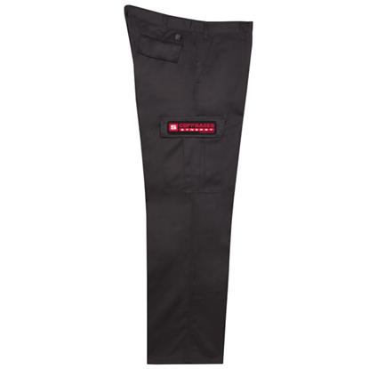 Image de Pantalon cargo noir 3239
