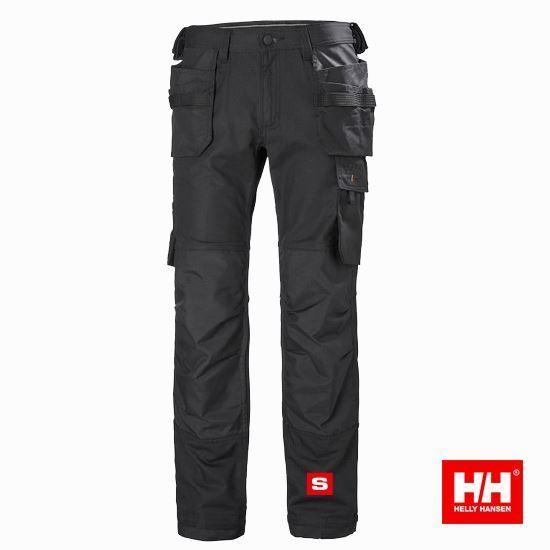 Picture of Pantalon Oxford HH noir - 77467